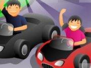 Cursa de masini pentru fete