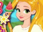Rapunzel machiaj si imbracat