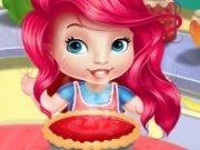 Baby Ariel: Prajitura cu branza