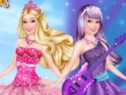 Printesa Barbie Popstar