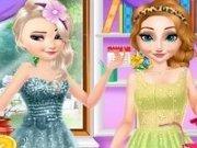 Surorile Frozen Surpriza pentru mama lor