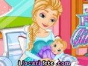 Printesa Elsa naste un bebelus superb