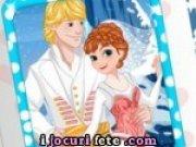 Invitatii pentru nunta printesei Anna si  Kristoff