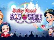 Baby Hazel exploreaza povestea cu Alba ca Zapada