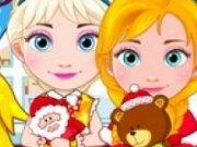 Elsa si Anna Baby de Craciun