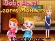Micuta Hazel invata bunele maniere