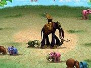 Lupte intre elefantii Khan Kluay
