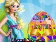Joc de gatit si decorat oua cu printesa Elsa
