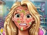 Tratamente faciale pentru printesa Rapunzel