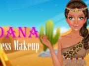 Printesa Moana Makeup
