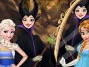 Elsa, Anna vrajitoarea si oglinda magica