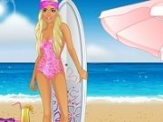 Barbie Placa de Surf