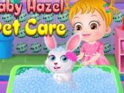 Ingrijeste iepurasul lui Baby Hazel