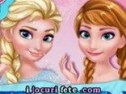 Machiaza pe Anna si Elsa pentru bal