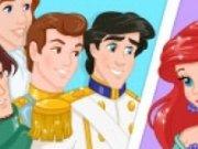 Printesele Disney si printii lor