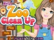 Curatenie la gradina zoologica