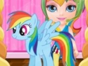 Poneiul Rainbow bebe