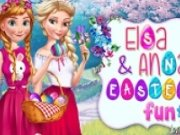 Prima zi de Paste cu Elsa si Ana