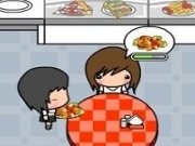 Serveste Pizza in Restaurantul Nina