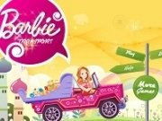 Barbie cu masina de transport
