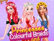 Ariel, Elsa și Moana Coafuri impletite