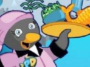 Serveste mancare la Restaurantul pinguinilor