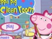 Ziua curateniei acasa la Peppa Pig