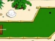 Minigolf pe insula de palmieri