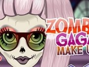 Zomby Lady Gaga Make Up