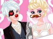 poze de nunta haioase cu Elsa si Jack Frost