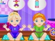 Babysitter pentru baby Elsa si Anna