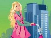Barbie cursa cu bicicleta
