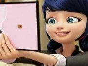 Puzzle cu Marinette din Miraculos Buburuza