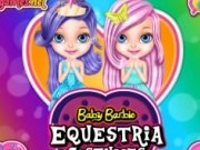 Baby Barbie in costme Equestria
