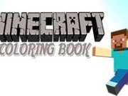 Minecraft Carte de colorat