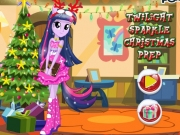 Twilight Sparkle: Decoreaza bradul de Craciun