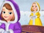 Printesa Sofia si Amber Iarna