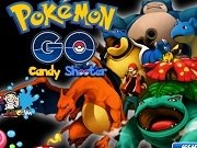 Candy shooter cu Pokemon Go