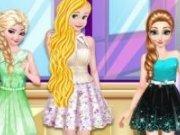 Rapunzel si surorile Frozen 3 tinute