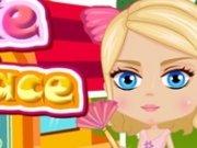 Barbie Curatenie la palat