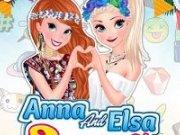 Anna si Elsa Festivalul Primaverii