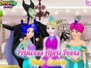 Ariel, Elsa si Jasmine Farse la coafor