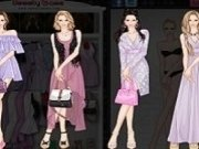Moda cu haine violet