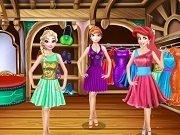 Moda cu Anna, Elsa si Ariel