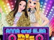 Muzica cu Anna și Elsa Dj