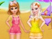 Elsa si Anna holiday
