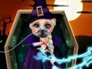 Elsa la spital de Halloween