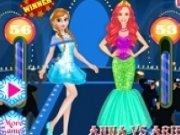 Anna vs Ariel Moda pe Covorul Rosu