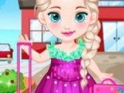 Baby Elsa la scoala