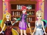 Elsa, Rapunzel si Ariel mini concert